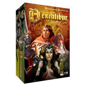 Hexcalibur juego de mesa