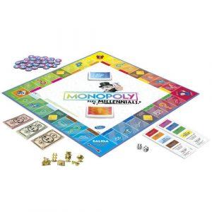 juegos de mesa Monopoly Millennials