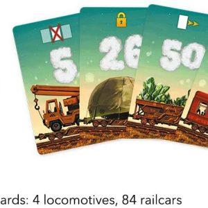 Juego de mesa Game of Trains