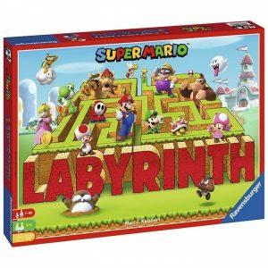 labyrinth super mario juego de mesa ravensburger
