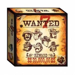 wanted 7 juego de mesa gdm games