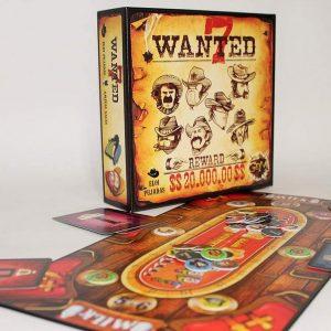 wanted 7 juego de tablero