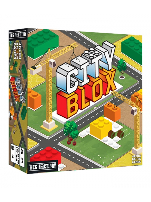 city blox en espanol juego de mesa tcg factory