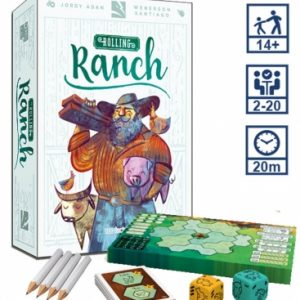 rolling ranch juego de mesa en espanol tcg factory